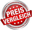 "Button Banner ""Preisvergleich"" rot/silber"