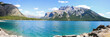 Panorama lake Minnewanka 2