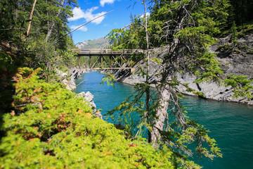 pont rivière Cascade