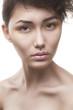 beauty woman with stylish makeup