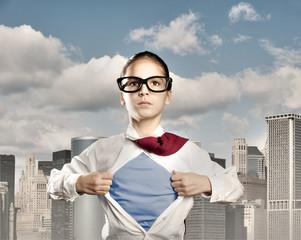superhero little girl