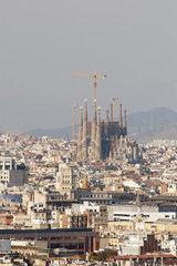 View over Barcelona, Catalonia, Spain
