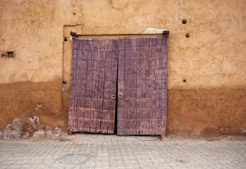 Old door in Marrakech