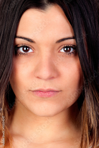 Portrait of attractive girl