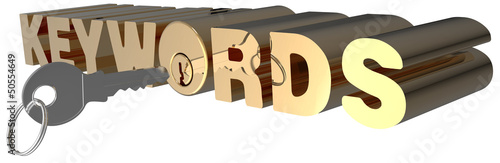 Keywords 3D search key words lock