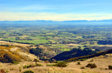 Autumn on The Canterbury Plains, Christchurch, New Zealand