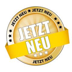 Button Jetzt Neu Gold