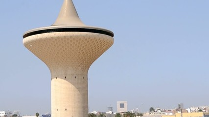 jeddah Water Tower closeup
