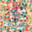 Circle colorful seamless