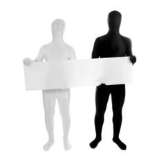 Zentai –Morphsuit – Blankoschild