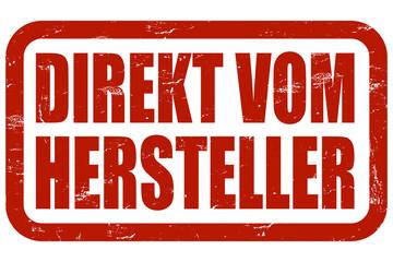 Grunge Stempel rot DIREKT VOM HERSTELLER
