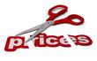 reducing prices, price cutting