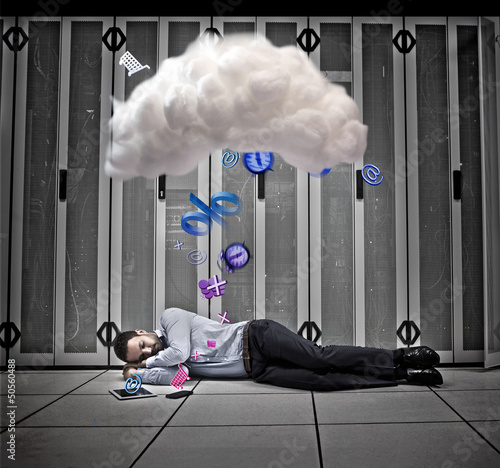 Data worker dreaming of applications and cloud computing