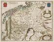Lapland vintage map