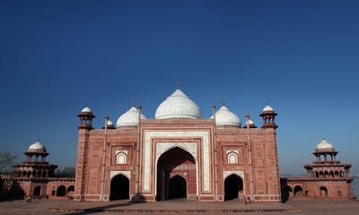 taj mahal - west gate