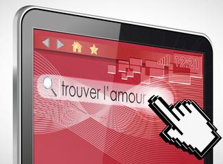 tablette tactile 3d recherche : amour
