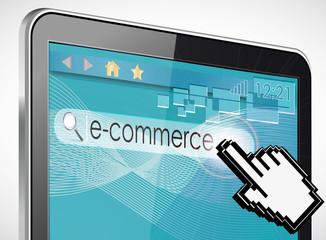 tablette tactile recherche : e-commerce