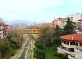 Irgandi Bridge in Bursa, Turkey.