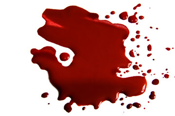Blood stains (puddle)