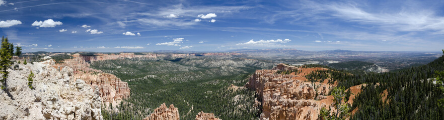 panoramica del Bryce Canyon National Park in Utah