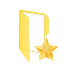 Favorite icon. Vector illustration