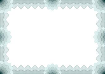 Frame for voucher, certificate