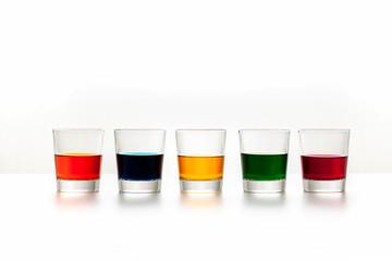 Whisky, Glas, und Farbe