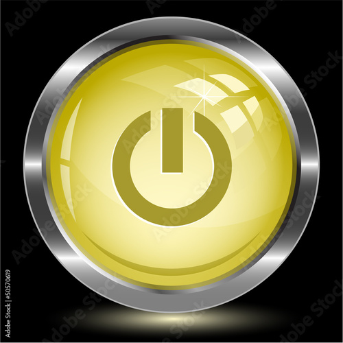 Switch element. Internet button. Vector illustration.