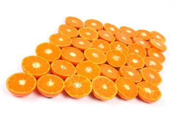 36 halbe Mandarinen