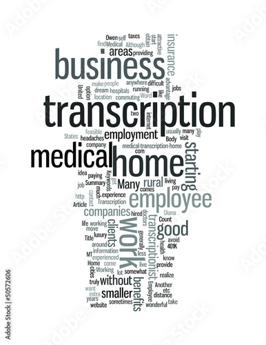 Medical Transcription at Home as an Employee