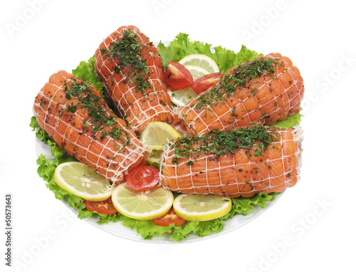 Rotolo di trota salmonata - Roll of salmon trout