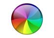 Curseur multicolore