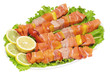 Spiedini di trota salmonata - Skewers of salmon trout