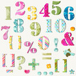 colorful numbers set