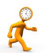 Clock Head Run