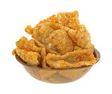 Pork Rinds Spicy In Bowl