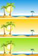 Summer Tropical Beach Set