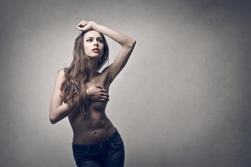 model pose
