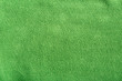 Green soft synthetic fleece
