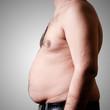 belly fat man