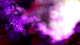 abstract fibre optic lights shot in super slow motion