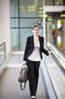Businessfrau auf Geschäftsreise