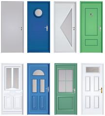 collection portes classiques