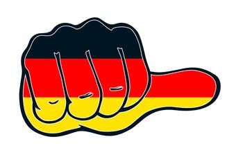 Daumen neutral für Deutschland