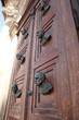 Busts on the door of Mariacki door