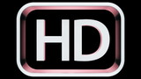HD TV Symbol reveal in 3D Space with 3 different styles