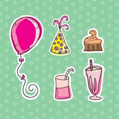 Party Time Icons