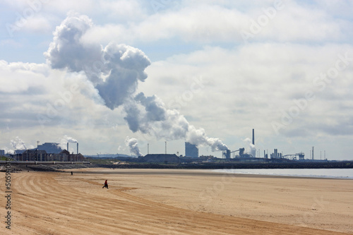 Port Talbot from Aberaven beach