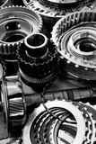 automobile gear assembly background