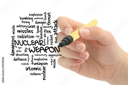nuclear weapon word cloud